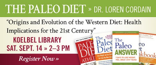 The Paleo Diet, Dr Loren Cordain, Denver Presentation0