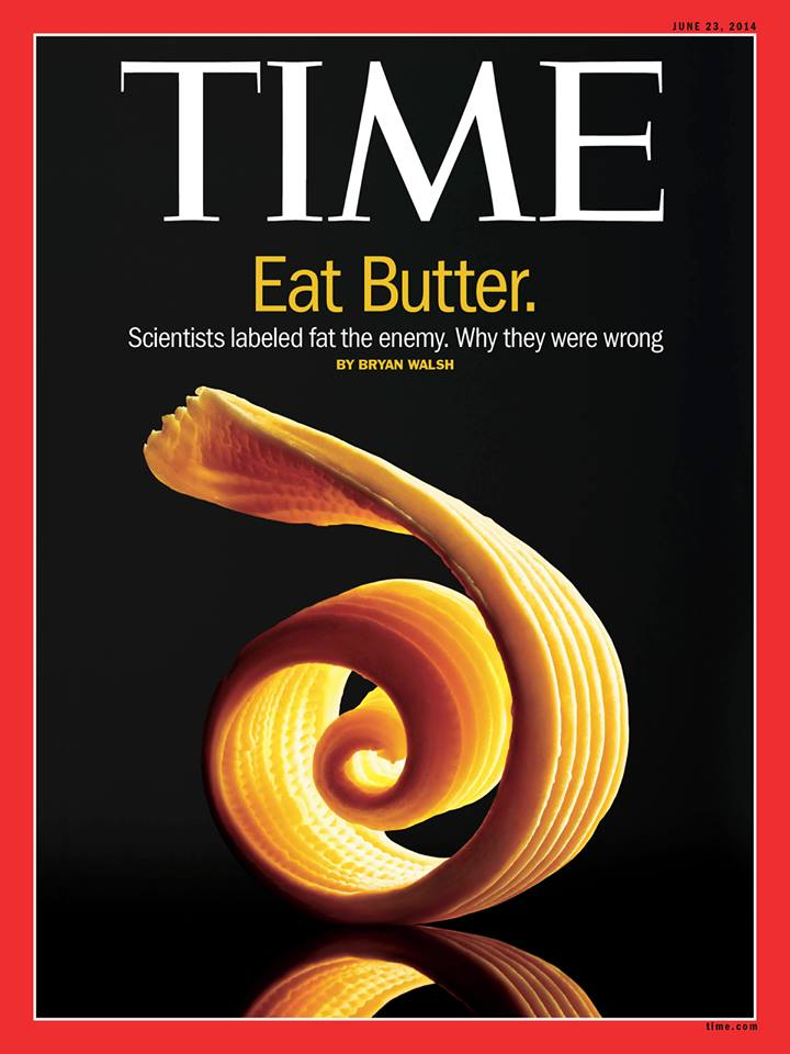 Time Magazine Eat More Butter