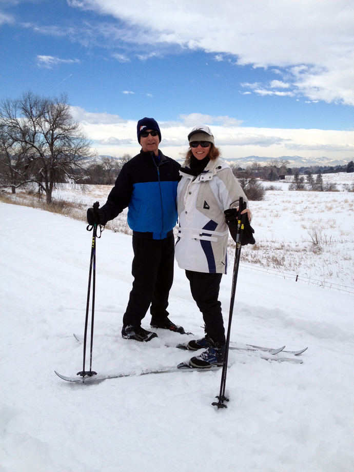 dr-cate-shanahan-dr-jeff-gerber-cross-country-skiing