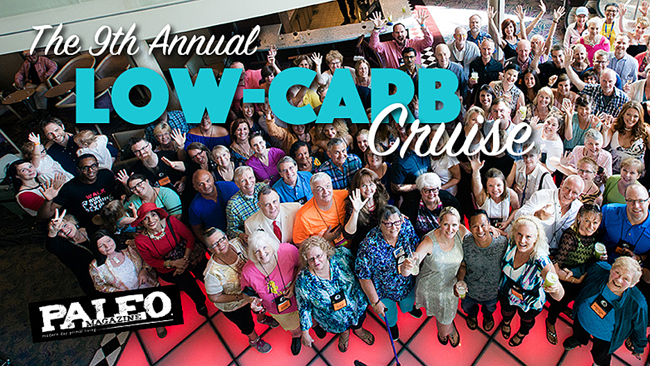 """The 9th Annual Low Carb Cruise,"" featured in Paleo Magazine Online!"