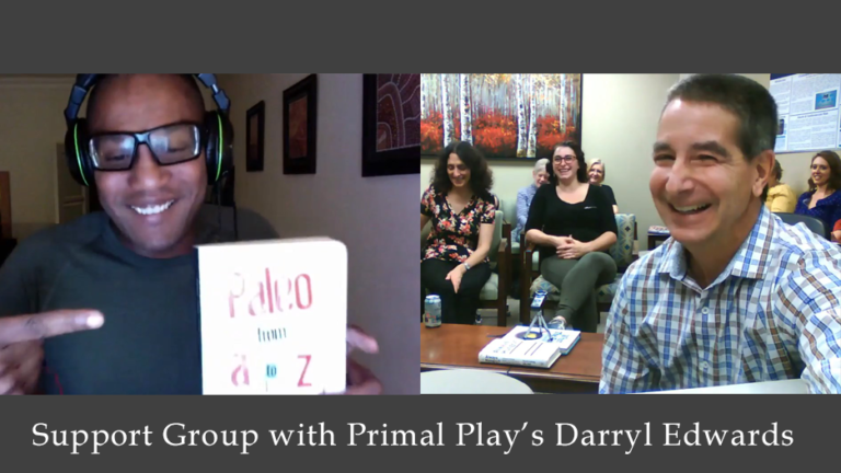 Support Group with Primal Play's founder Darryl Edwards