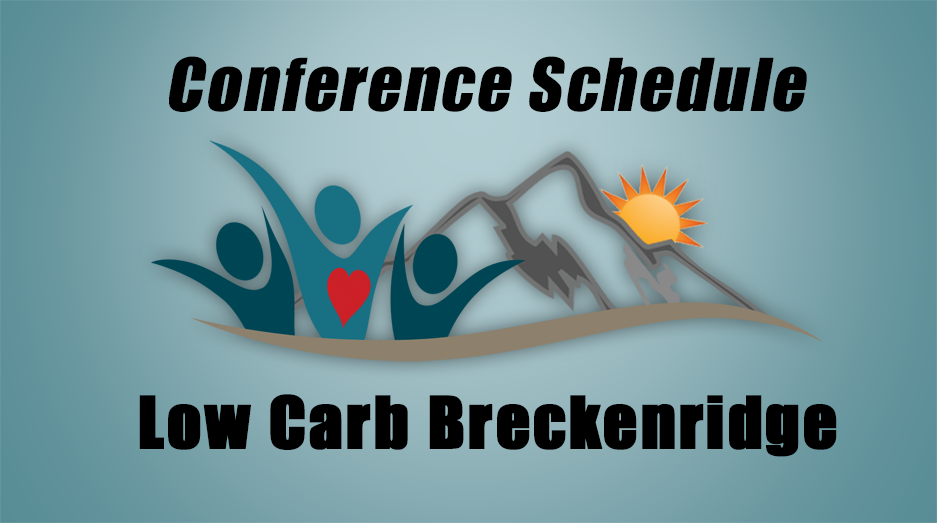 Low Carb Breckenridge conference schedule 2017