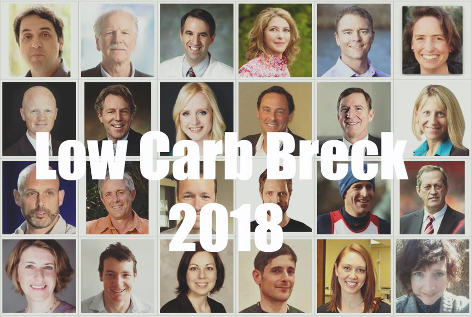 Low Carb Breckenridge 2018 conference - Main event page