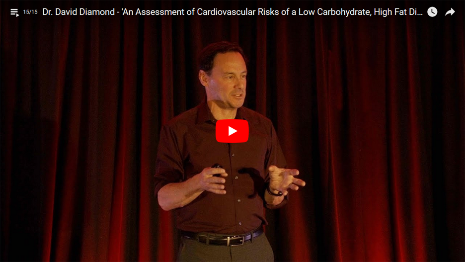Dr David Diamond - An Assessment of Cardiovascular Risks of a Low